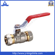 Forged Brass Ball Valve Compression End (YD-1039)